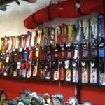 dětské lyže 1